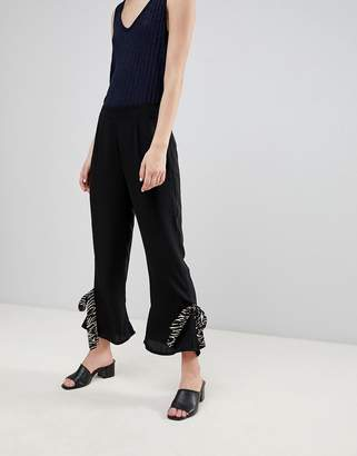 Vero Moda Tie Hem Pants