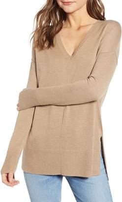 Trouve Side Slit Sweater