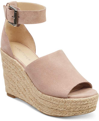 Marc Fisher Cala Platform Wedge Sandals Women Shoes
