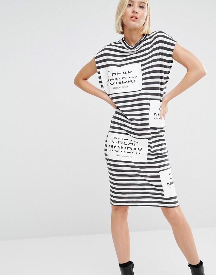 Cheap Monday Ring Dress Striped