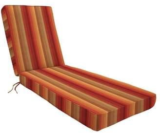 Eddie Bauer Indoor/Outdoor Sunbrella Chaise Lounge Cushion