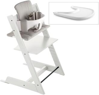 Stokke Tripp Trapp® Chair, Baby Set, Cushion & Tray Set