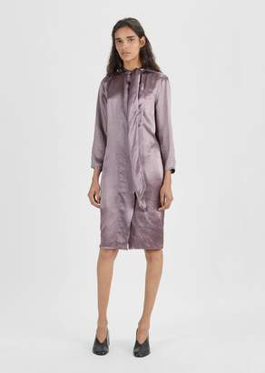 Acne Studios Doree Satin Dress Dusty Purple