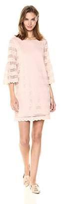 Ella Moon Women's Charlie Long Bell Sleeve Lace Dress