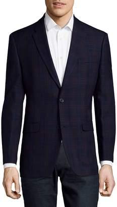 Tommy Hilfiger Men's Plaid Design Sportcoat