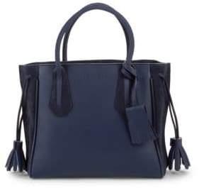 Longchamp Penelope Leather Tote Bag