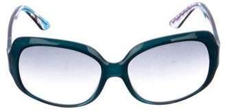 Emilio Pucci Gradient Square Sunglasses
