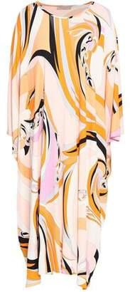 Emilio Pucci Printed Jersey Midi Dress