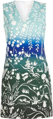 Peter Pilotto Printed V-Neck Dress