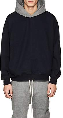 Fear Of God Men's Colorblocked Cotton Oversized Hoodie