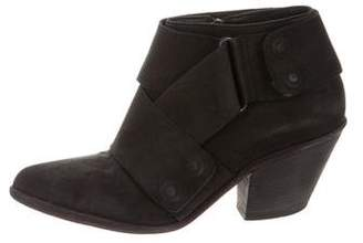 Ld Tuttle Leather Pointed-Toe Ankle Boots