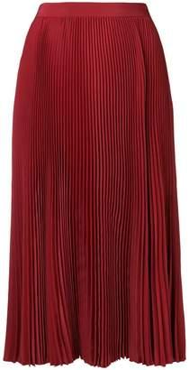 Philosophy di Lorenzo Serafini fold pleated skirt