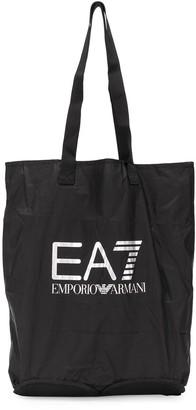 Emporio Armani Ea7 logo shopping bag