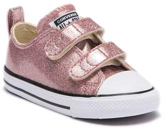 Converse Chuck Taylor All Star Rose Gold Glide Sneaker (Toddler)