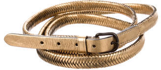 3.1 Phillip Lim3.1 Phillip Lim Metallic Wrap-Around Belt