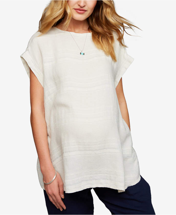 Maternity Textured Top