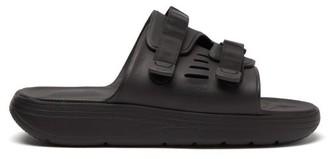 Suicoke Urich Rubber Slides - Mens - Black