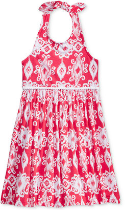Good Lad Aztec-Print Halter Dress, Little Girls (2-6X) $36 thestylecure.com