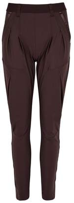 High Lurch Tapered Jersey Trousers