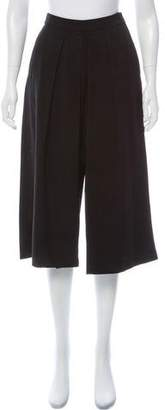 MICHAEL Michael Kors High-Rise Wide-Leg Pants