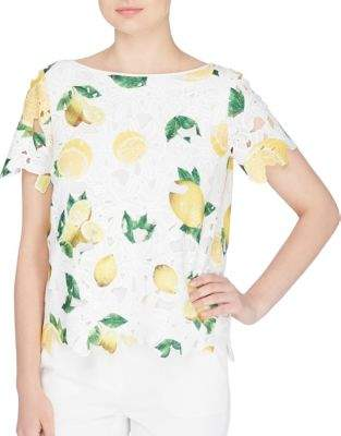 Catherine Malandrino Lemon Drop Charm Top