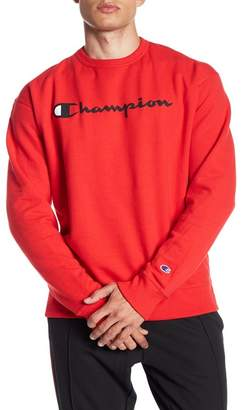 Champion Graphic Powerblend Crew Neck Pullover