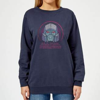 Transformers All Hail Megatron Women's Sweatshirt