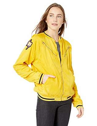 Freecity Women's Satin Jump Jacket
