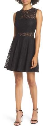 LuLu*s Lace Skater Dress