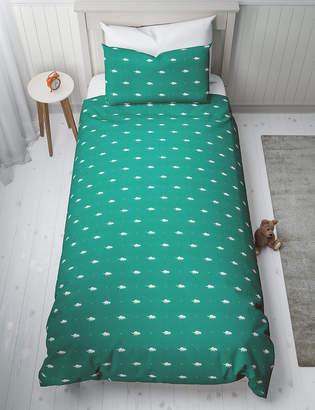 Marks and Spencer Dinosaur Print Reversible Bedding Set