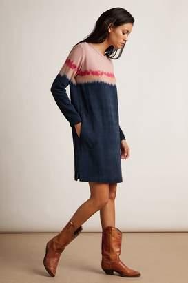 Velvet by Graham & Spencer Velvet By Graham Spencer Pricilla Luxe Fleece Tie Dye Sweatshirt Dress