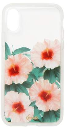 Sonix Tropical Bloom Clear Coat iPhone X Case