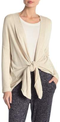 Bobeau Cozy Convertible Open Cardigan