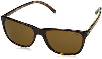 Polo Ralph Lauren Men''s 0Ph4108 500373 57 Sunglasses
