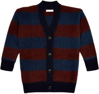 Burberry Knitted Stripe Cardigan