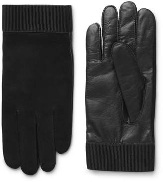 Weekday Issue Leather Gloves - Black