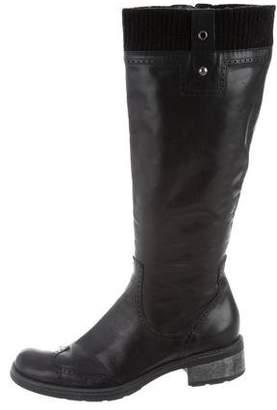 Aquatalia Leather Knee-High Boots