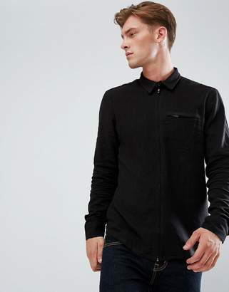 Bellfield Zip Through Shirt