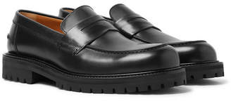 Mr P. Jacques Leather Penny Loafers