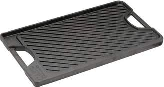 """Calphalon Select by 10"""" x 18"""" Rev Cast Iron Grill Griddle"""