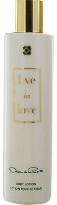 Oscar de la Renta Live In Love by Body Lotion 6.8 oz