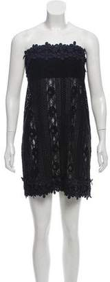 Nicholas Strapless Lace Dress