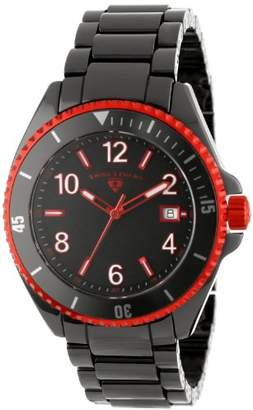 Swiss Legend Men's 11528-BKBRDA Luminar Dial High-Tech Ceramic Watch