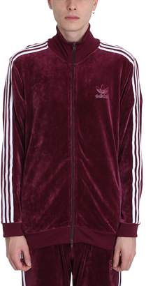 adidas Velvet Burgundy Sweater