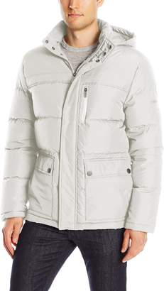 Kenneth Cole New York Men's Down Jacket with Hood