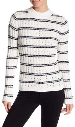 French Connection Colorblock Rib Knit Sweater