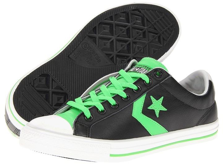 Converse Star Player EV Ox (Black/Green) - Footwear