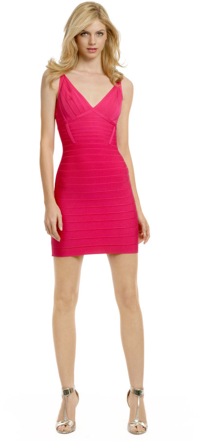 Herve Leger Caught Up in the Moment Dress