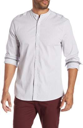 Kenneth Cole New York Mock Neck Regular Fit Shirt