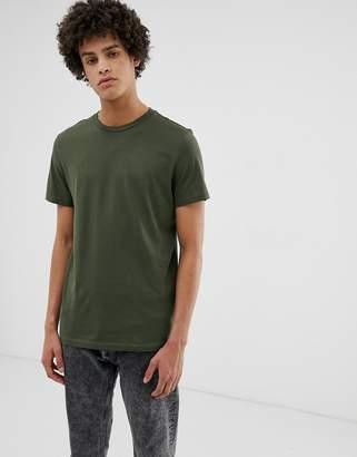 Weekday Alan t-shirt in khaki